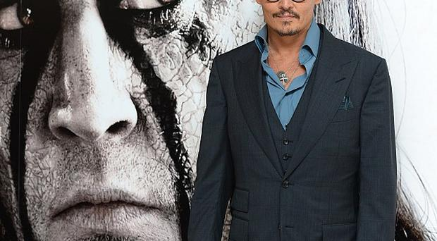 Pirates of the Caribbean star Depp plays Tonto in the new Lone Ranger film