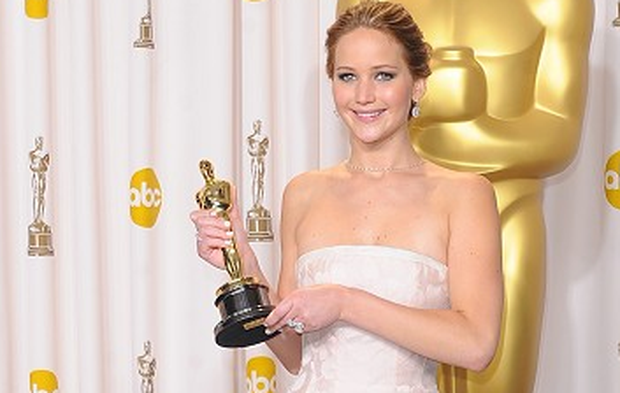 Jennifer Lawrence scooped the Best Actress Oscar for Silver Linings Playbook