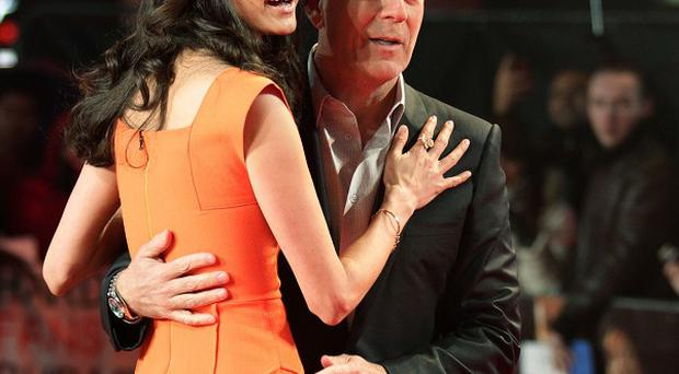 Bruce Willis likes to take his wife Emma Heming with him when he is working