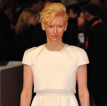 Tilda Swinton stars in The Zero Theorem, which is a contender for the top prize at the Venice Film Festival