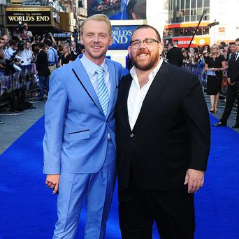 Simon Pegg and Nick Frost are shareholders in production company Big Talk, which has been bought by ITV