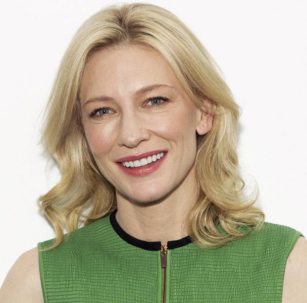 Cate Blanchett finds it hard to get out of her pyjamas and go to work