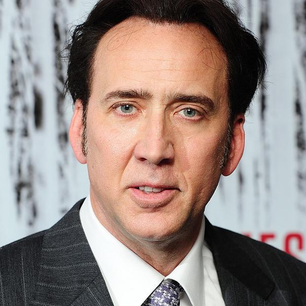 Nicolas Cage says he was an angry young man