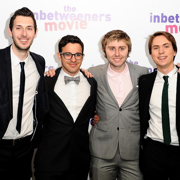 Blake Harrison, Simon Bird, James Buckley and Joe Thomas as The Inbetweeners are coming back for a follow-up to their hit movie.