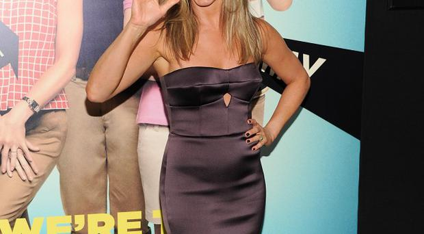 Jennifer Aniston at the world premiere of We're The Millers