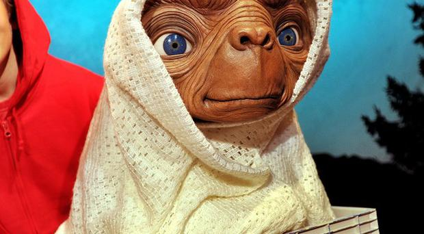 ET the Extra-Terrestrial has been voted the country's best-loved childhood movie