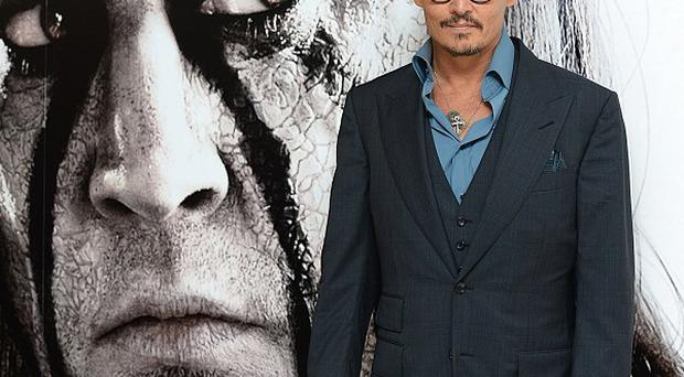 Johnny Depp studied silent movie stars for his portrayal of Tonto