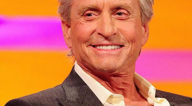 Michael Douglas came back from throat cancer treatment to play Liberace