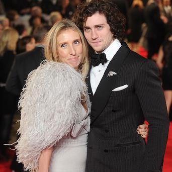 Aaron Taylor-Johnson will look after the children while wife Sam works on 50 Shades of Grey