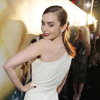 Lily Collins had nothing but praise for Jamie Campbell Bower