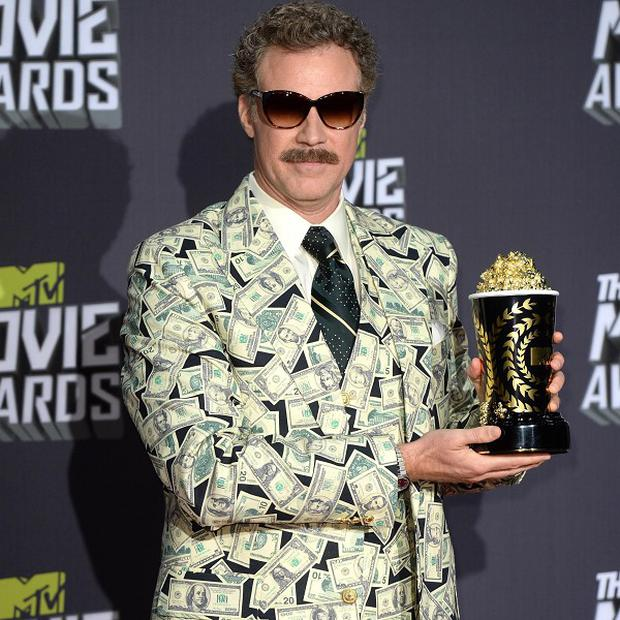 Will Ferrell's famous character Ron Burgundy will have his own autobiography