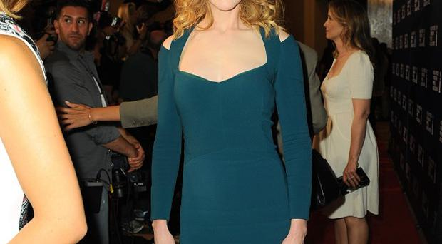 Nicole Kidman was one of the A-listers attending the Hollywood Foreign Press Association luncheon in Beverly Hills