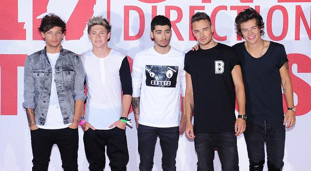 One Direction have been promoting their new film