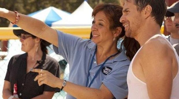Sam Rockwell and Maya Rudolph star together in comedy The Way Way Back