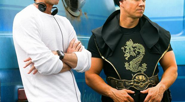 Mark Wahlberg plays a bodybuilder in Pain and Gain directed by Michael Bay