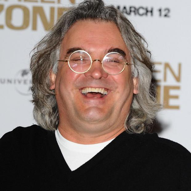 Paul Greengrass laughed off suggestions he and Matt Damon were making another Bourne film