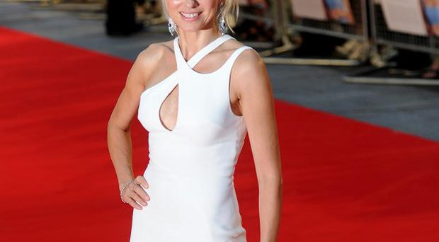Naomi Watts arrives for the Diana premiere at the Odeon Leicester Square in central London
