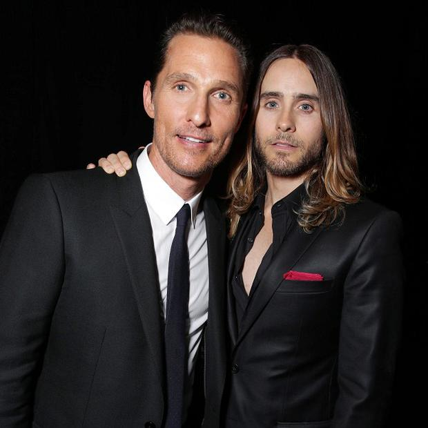 Matthew McConaughey and Jared Leto star in Dallas Buyers Club