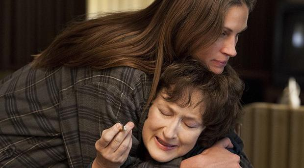 Julia Roberts and Meryl Streep star in August: Osage County