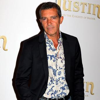 Antonio Banderas provides his voice for Justin And The Knights Of Valour