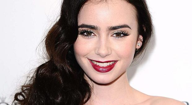 Lily Collins is apparently the most