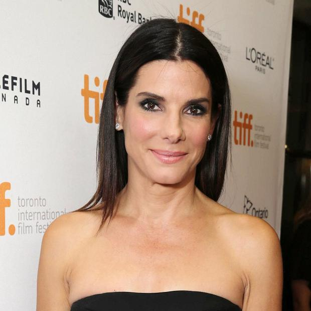 Sandra Bullock chooses roles that work around caring for her young son