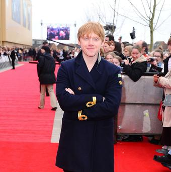Rupert Grint will provide his voice for the English language version of Foosball