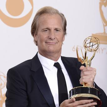 Jeff Daniels was heading off to film Dumb And Dumber To after his Emmy win