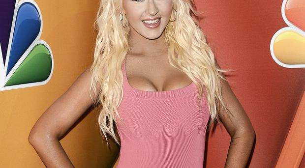 Christina Aguilera has written a song for the soundtrack of The Hunger Games: Catching Fire