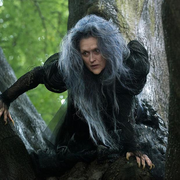 Meryl Streep plays a witch trying to reverse a curse in Into The Woods