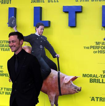 James McAvoy stars as Bruce Robertson in Filth