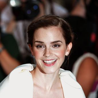 Emma Watson has topped a sexiest film star poll