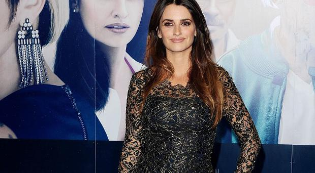 Penelope Cruz at the screening of The Counsellor in London