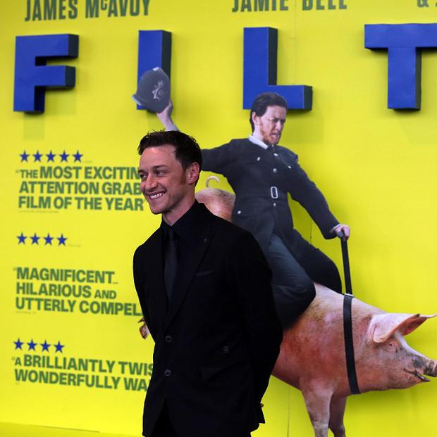 James McAvoy said Filth is a different take on mental illness