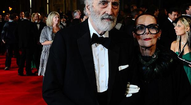 Christopher Lee will be honoured with a fellowship from the British Film Institute