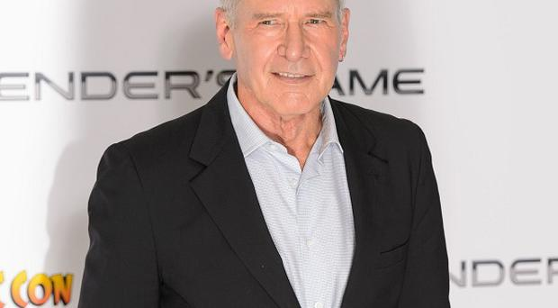 Harrison Ford was in London for a screening of Ender's Game