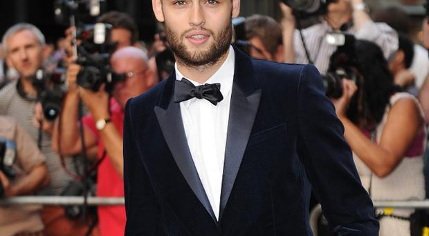 Douglas Booth doesn't want to be just a heartthrob