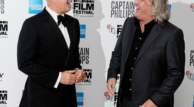 Tom Hanks and Paul Greengrass admitted filming at sea was quite a challenge