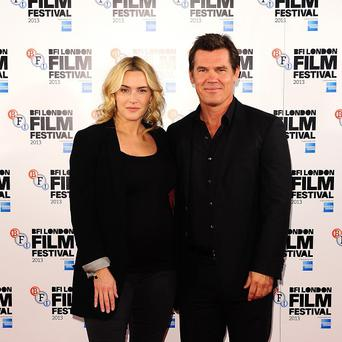 Josh Brolin cooked pies for Kate Winslet on the set of their new film Labor Day