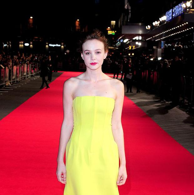 Carey Mulligan arrives at the screening for new film Inside Llewyn Davis at the Odeon cinema in London.