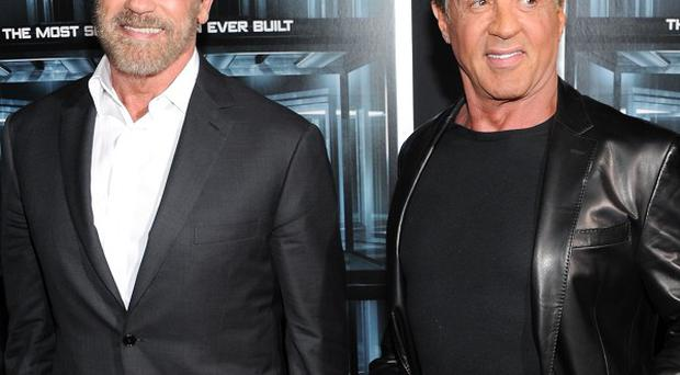 Arnold Schwarzenegger and Sylvester Stallone star together in Escape Plan