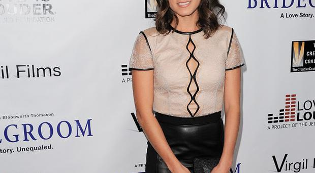 Nikki Reed was supporting the Bridegroom documentary in LA