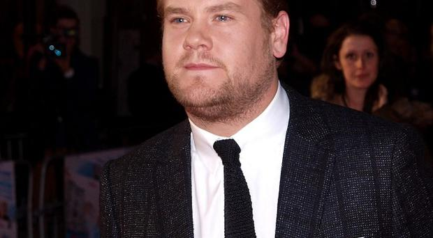James Corden said filming Into The Woods has been one of his greatest experiences