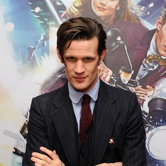 Matt Smith is the current Doctor Who