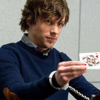 Jess Eisenberg starred in Now You See Me