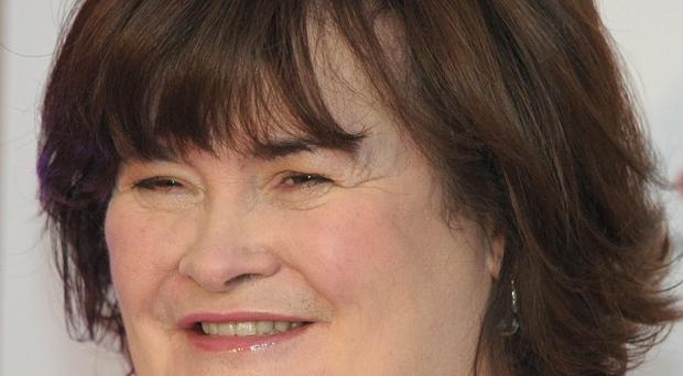 Susan Boyle told fans to 'watch this space' for a biopic of her life