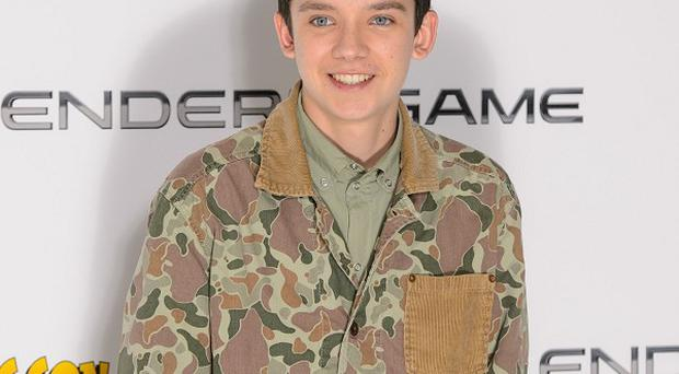 Asa Butterfield did plenty of push-ups for his new film, Ender's Game