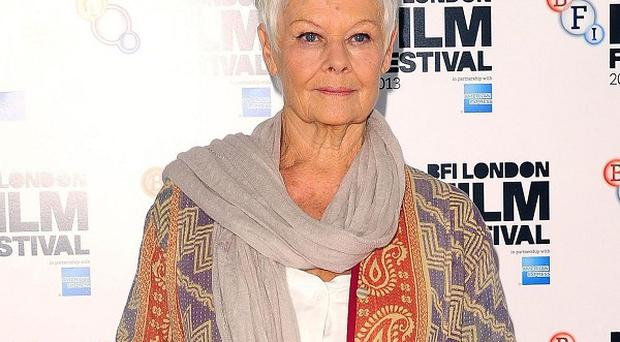Judi Dench says she had lots of laughs on the set of Philomena