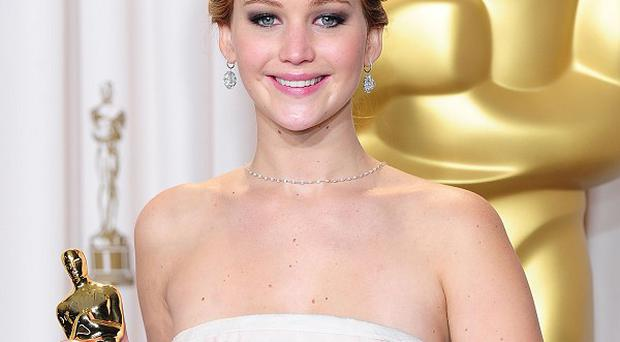 Jennifer Lawrence stars in the Hunger Games films