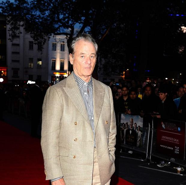 Bill Murray will lend his voice to a ghost